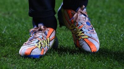 La evolución de los botines de futbol
