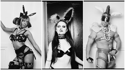 Photos of Bondage Bunnies and Kinky Jesuses at an Easter Fetish Ball