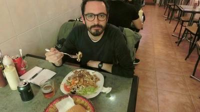Pasé toda una noche en un shawarma de Barcelona