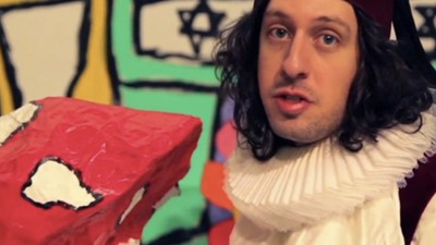Adam Green Remakes 'Aladdin' in the World Premiere of His New Music Video