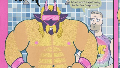 'A Satanic Wrestler Rebranded!' Today's Comic by Ed Luce