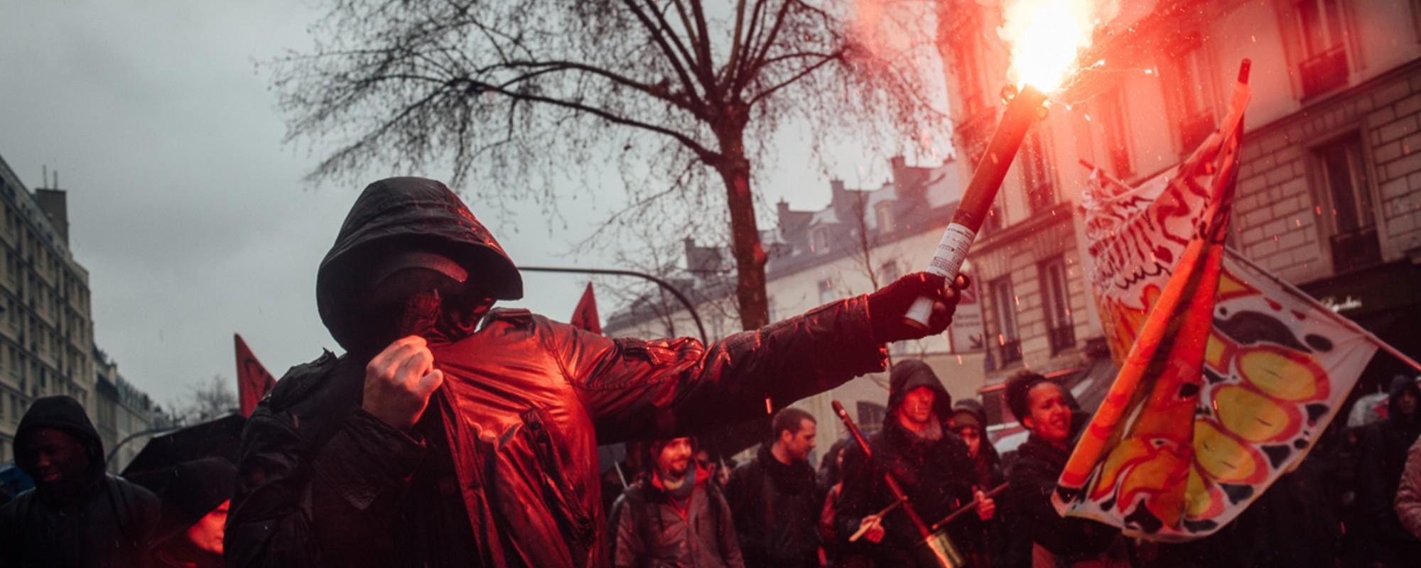 Dans les rangs des cortèges parisiens  contre la loi Travail