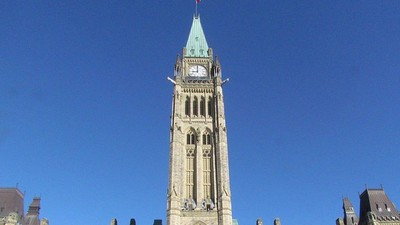 People Are Bringing Guns, Knives, and Drugs to Parliament Hill in Canada