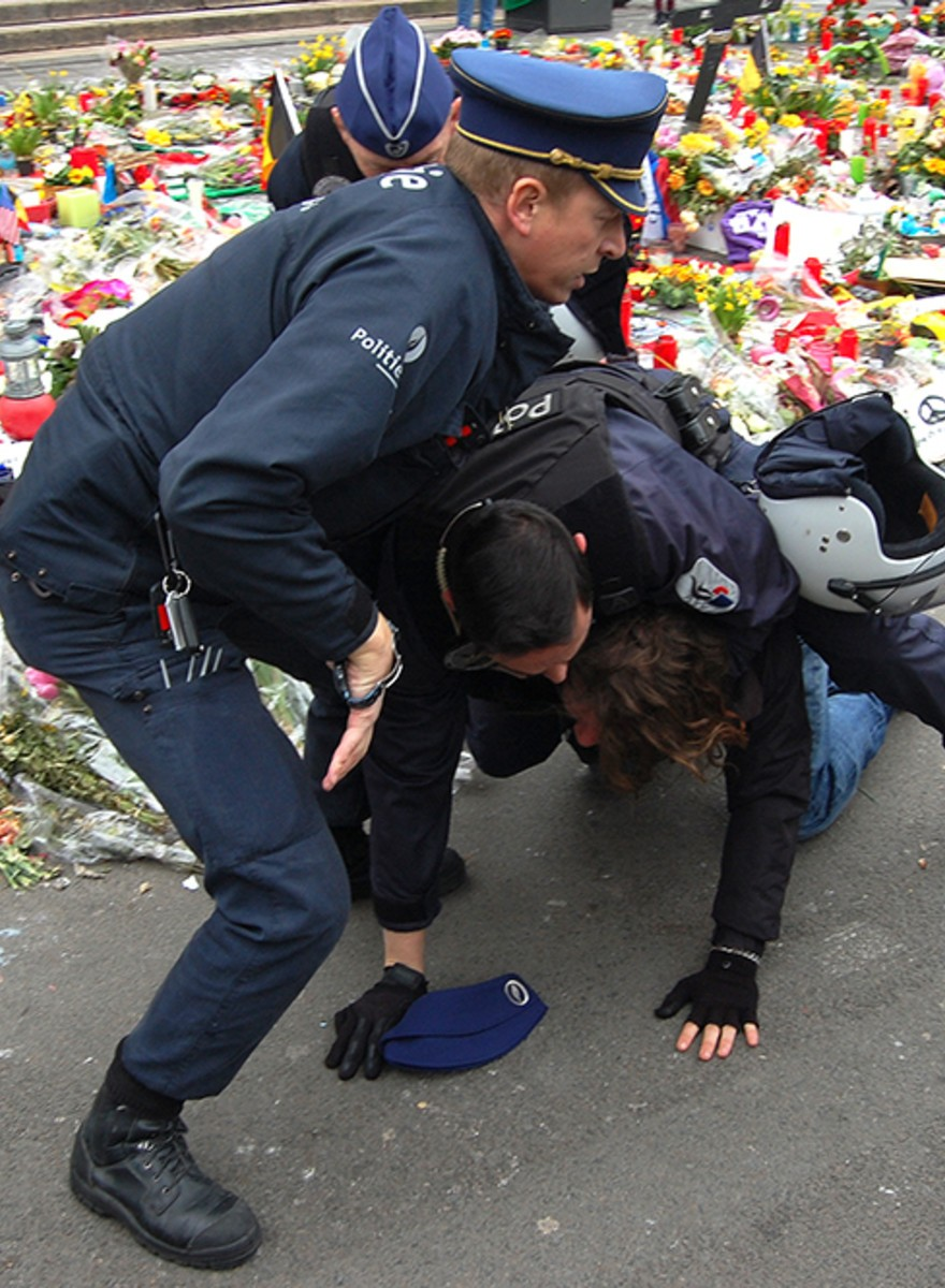 Opnieuw was het vandaag vreselijk onrustig in Brussel