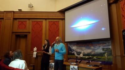 """Een middag met de ufo-sekte die dol is op Poetin en een """"buitenaardse ambassade"""" wil bouwen in Rusland"""