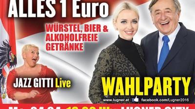 Wahlkampfauftakt in der Lugner City: Der Live-Bericht