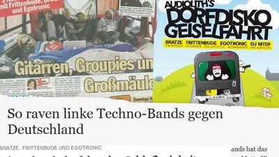 """""""Dorfdisko Geiselfahrt"""" – Die Tour, die Audiolith zum berüchtigten Ravepunk-Label machte"""