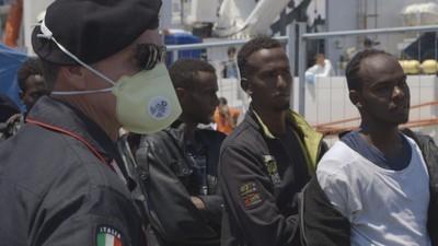 Pašování lidí na Sicílii