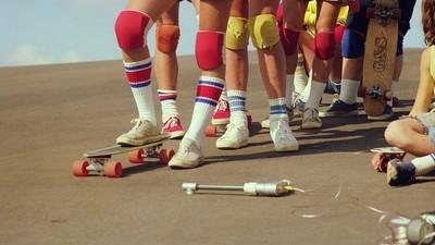 Znovuobjevený fotky hollywoodský skejtový scény ze sedmdesátek