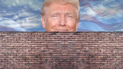 Donald Trump erklärt, wie er Mexiko dazu zwingen will, die Grenzmauer zu den USA zu zahlen