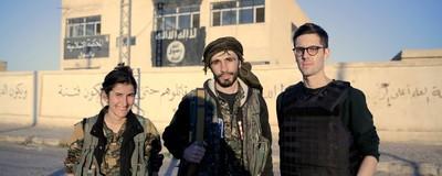 V první linii s evropskými dobrovolníky, kteří bojují proti ISIS v Sýrii