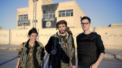 On the Front Lines with International Volunteers Fighting ISIS in Syria