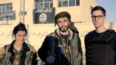 Aan de frontlinie met de internationale vrijwilligers die tegen IS vechten in Syrië