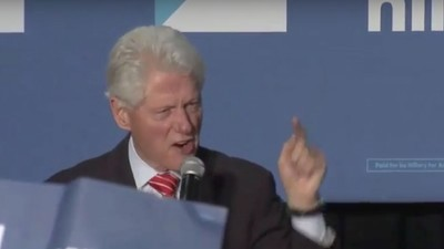 Bill Clinton Just Blew Up at Black Lives Matter Protesters Over Hillary's 'Super Predator' Remark