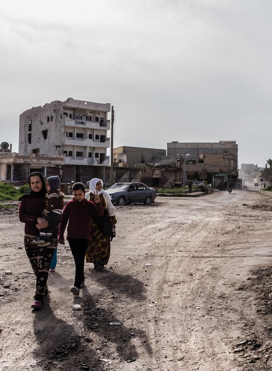 Inside the Devastation of Northern Syria