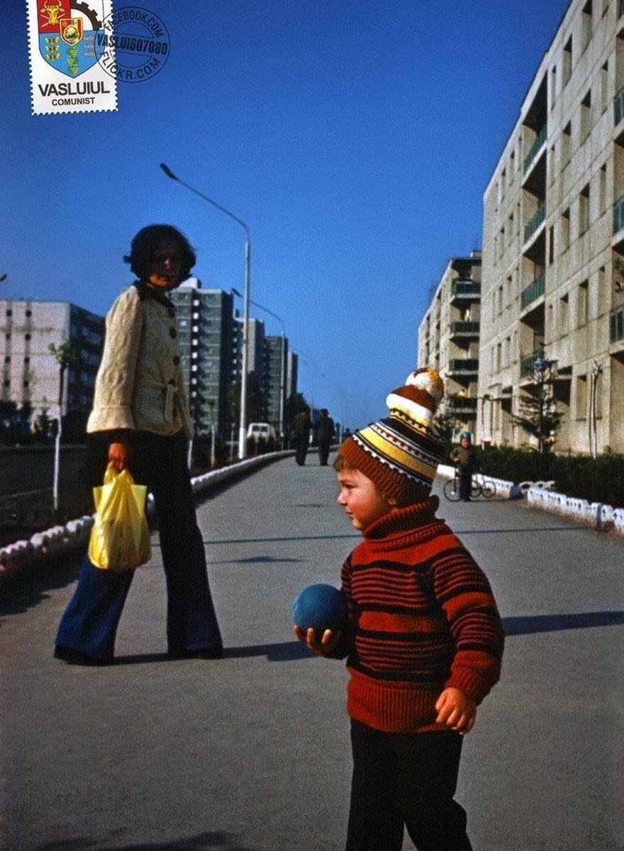 Oude foto's die de kleurrijke kant van het communisme laten zien