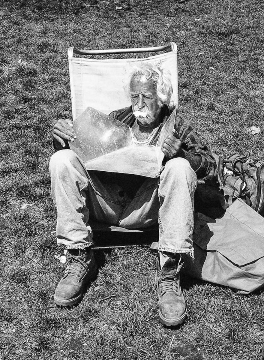 Retratos de los neoyorquinos ignorados por la ciudad