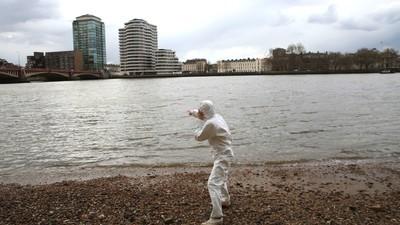 Wir haben uns auf die Suche nach dem Monster der Themse gemacht
