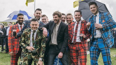 Pints, Plaid Suits, and Wads of Cash: An American Explores Britain's Most Infamous Horse Race