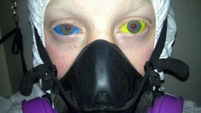 We vroegen een paar gasten met oogboltatoeages hoe het is om een oogboltatoeage te hebben