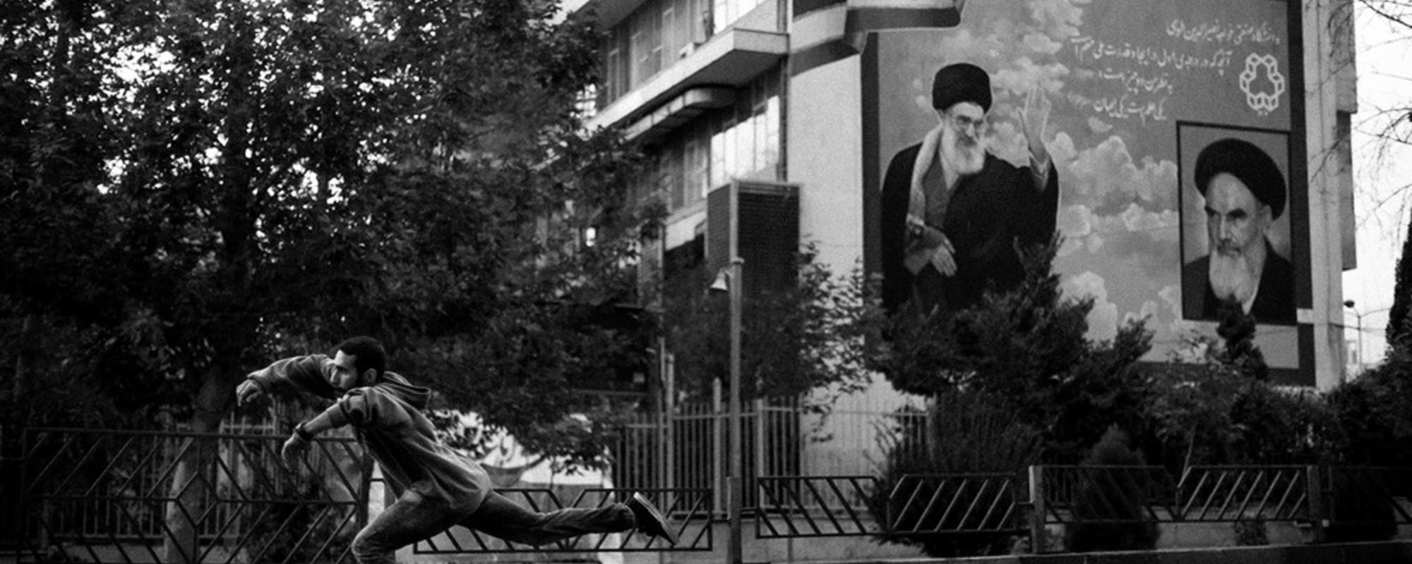 Billeder fra Irans spirende skaterkultur
