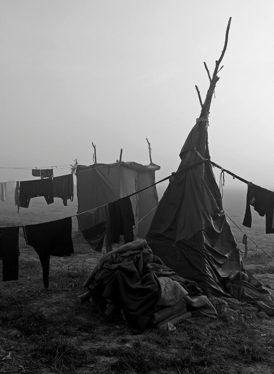 Elend, Krawalle und Dreck: Die Zeltstadt von Idomeni