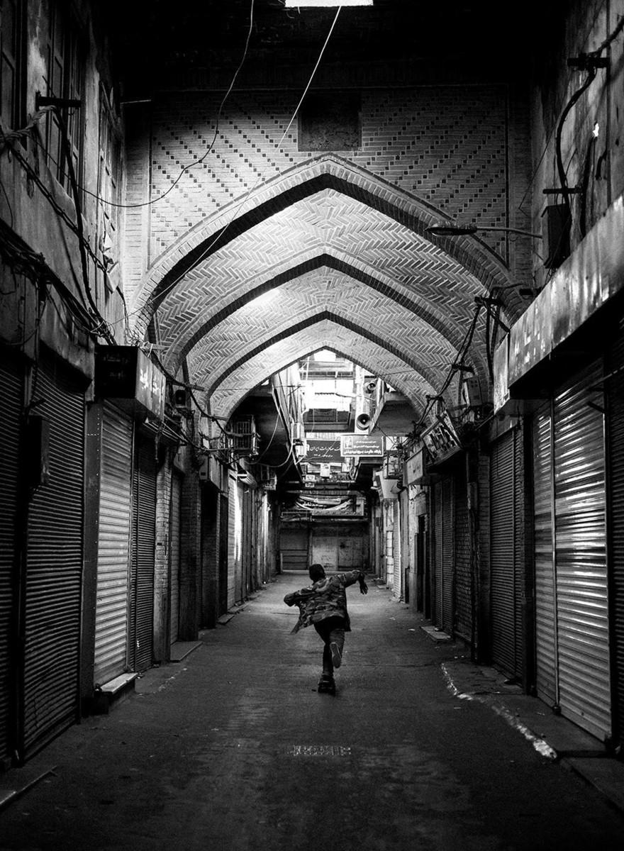 Foto della scena skate dell'Iran