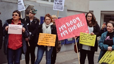 In Europe, Thousands of People Hit the Streets to Support Reproductive Rights