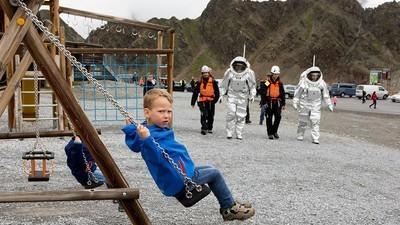 Uma Missão a Marte nos Alpes Austríacos