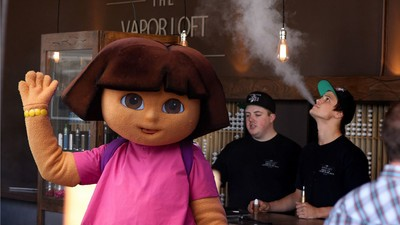Dora the Explorer Allegedly Got a Girl Expelled After Peer-Pressuring Her to Vape at School
