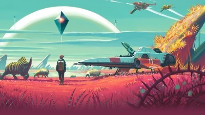 Exploring the Sexy Maths of 'No Man's Sky' and 'Elite Dangerous'