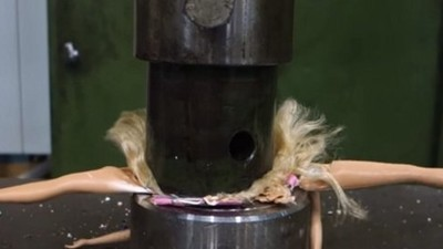 I Asked the YouTuber Who Crushes Stuff In a Hydraulic Press: Why?