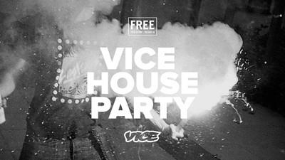 Wir feiern die zweite VICE House Party des Jahres