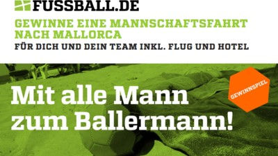 DFB fördert: Saufurlaub auf Mallotze