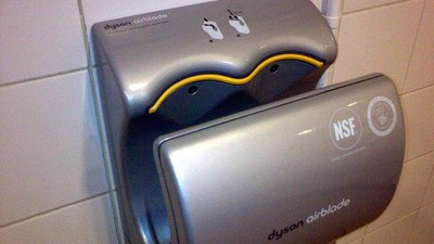 Those Fancy Dyson Hand Dryers Spread Way More Germs Than Paper Towels