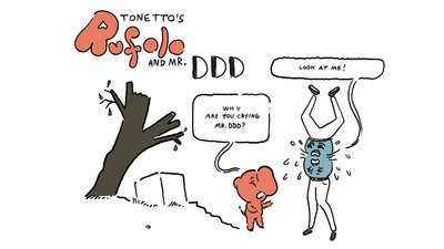 'Rufolo and Mr. DDD,' Today's Comic by Fabio Tonetto