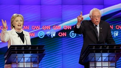 What We Learned from Last Night's Noisy, Pissed-Off Democratic Debate