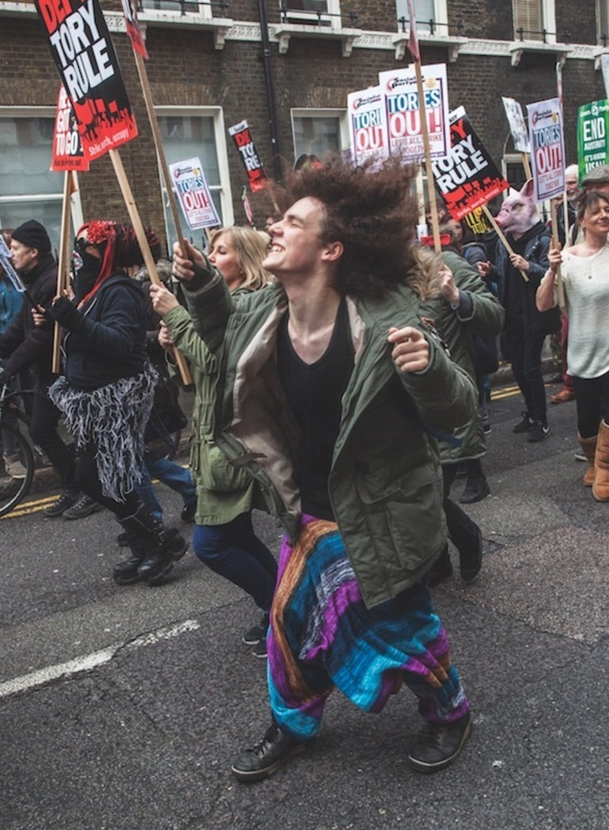 Photos from the Massive People's Assembly Anti-Austerity March
