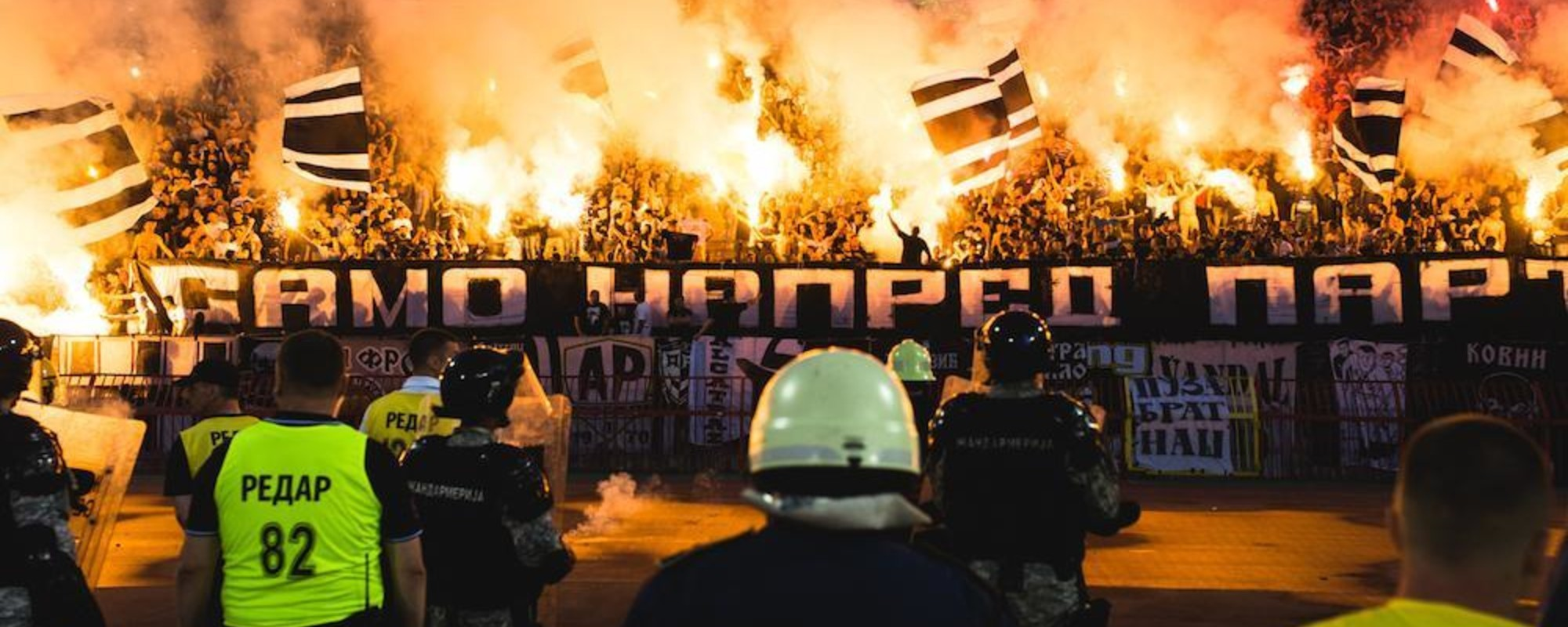 The Blood and Tear Gas of Belgrade's Football Derby
