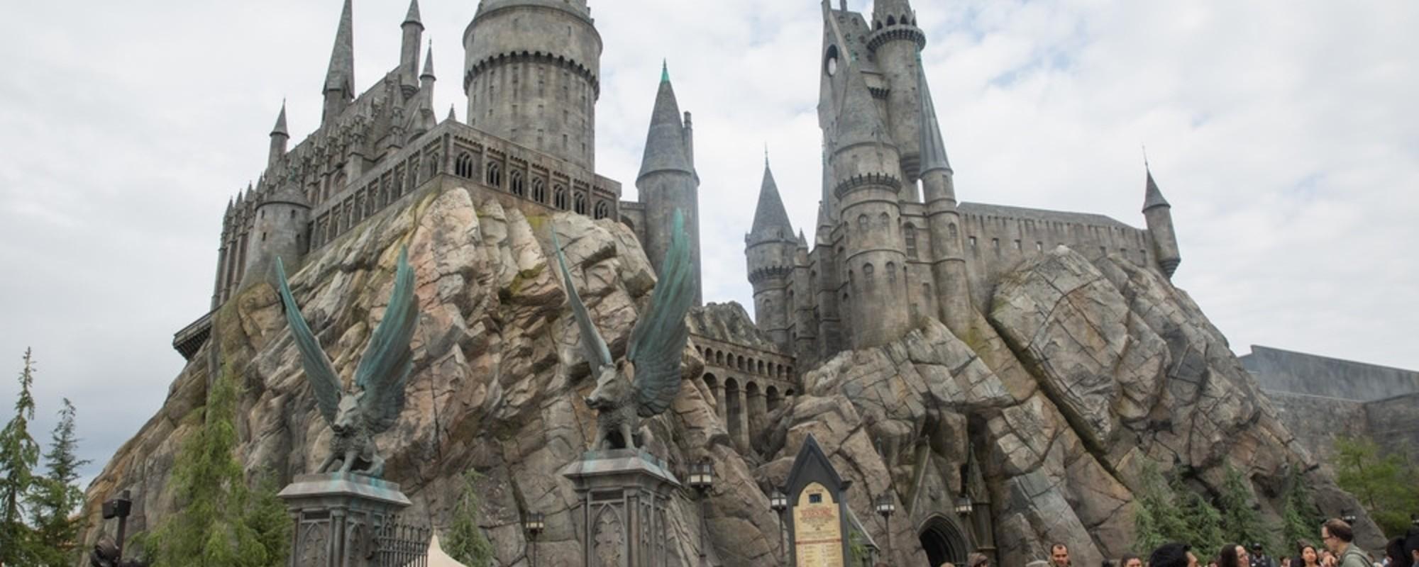 Así se ve el parque temático de Harry Potter de 500 millones de dólares