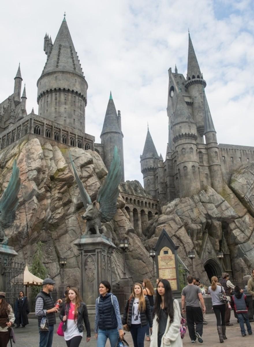 Cum arată parcul de distracții Harry Potter, în valoare de cinci sute de milioane de dolari