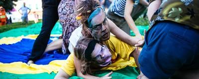 O Brasil do último domingo congelado em imagens
