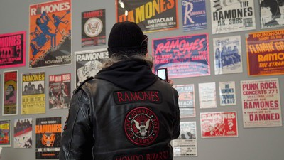 Punk's Not Dead, It's on Display at the Ramones Museum Show