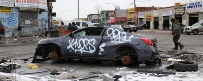 The Iron Triangle: How an Abandoned New York Junkyard Became an Illegal Graffiti Paradise