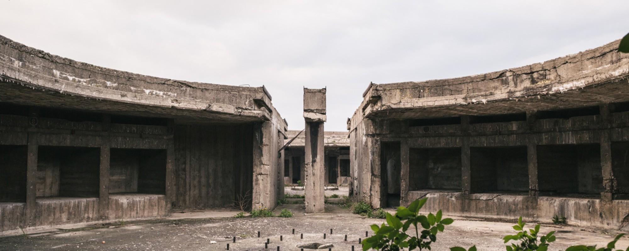 Fotos aus dem Inneren eines Wiener Flakturms
