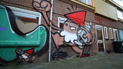 Der kunstvolle Graffiti-Krieg zwischen Feyenoord- und Utrecht-Sprayern