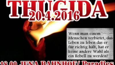 Die rechte Thügida will heute mit 88 Fackeln durch Jena marschieren