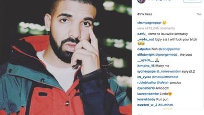 La pesadilla de que Drake te siga en Instagram