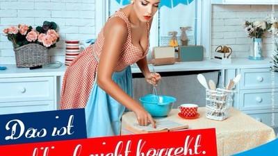 """""""Sehen Sie auch Brüste in einer Küche, die kochen?"""""""
