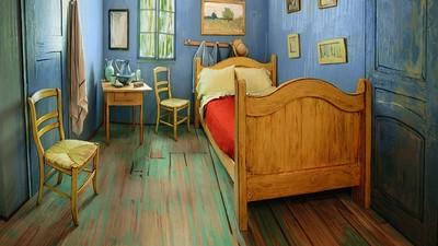 Van Goghs berühmtes Schlafzimmer-Gemälde gibt es jetzt als bewohnbares Airbnb-Zimmer